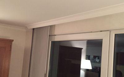 Stuckprofile als Vorhang-Kassette
